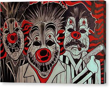 Who R These Clown's..... Canvas Print by Ottoniel Lima