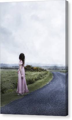 Long Street Canvas Print - Who Will Collect Me by Joana Kruse