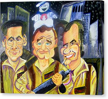 Who You Gonna Call Canvas Print by Jacob Logan