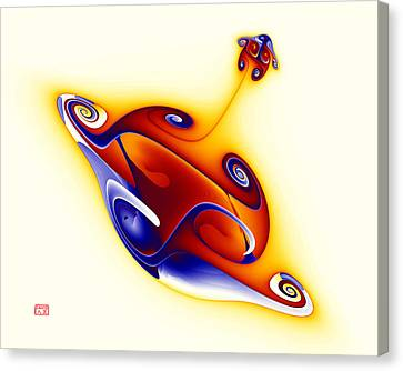 Whoopee Canvas Print by David Jenkins