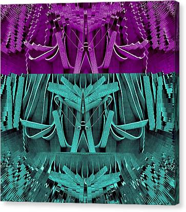 Why Not In Three Parts Canvas Print