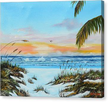 Why Not Siesta Key Canvas Print