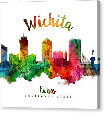 Wichita Kansas Canvas Print - Wichita Kansas 24 by Aged Pixel