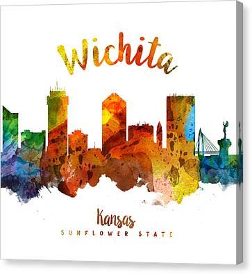 Wichita Kansas Canvas Print - Wichita Kansas 26 by Aged Pixel