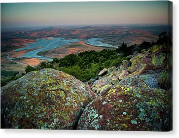 Wichita Mountains In Lawton Canvas Print