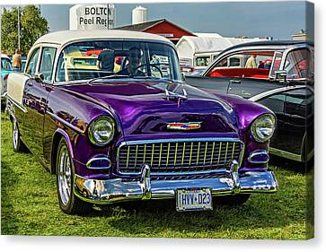 Wicked 1955 Chevy Canvas Print