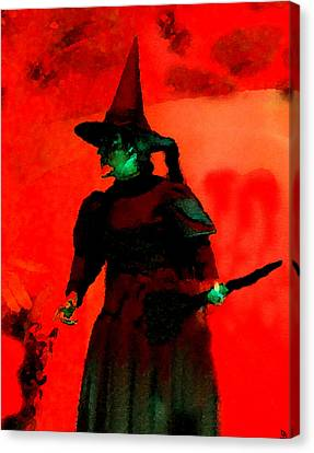 Wicked Canvas Print by David Lee Thompson