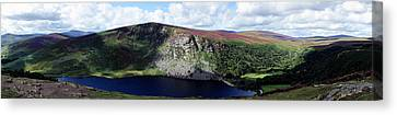 Wicklow Mountains In Ireland Canvas Print