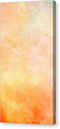 Abstract Art On Canvas Print - Wide Open - Abstract Art - Triptych 1 Of 3 by Jaison Cianelli