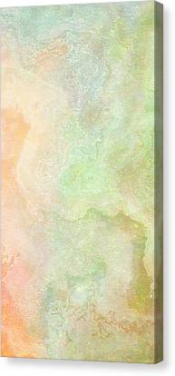Wide Open - Abstract Art - Triptych 2 Of 3 Canvas Print by Jaison Cianelli