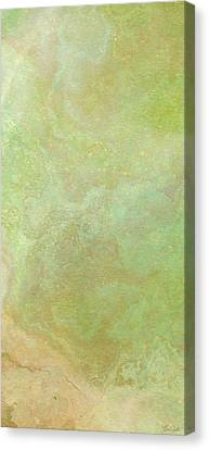 Abstract Art On Canvas Print - Wide Open - Abstract Art - Triptych 3 Of 3 by Jaison Cianelli