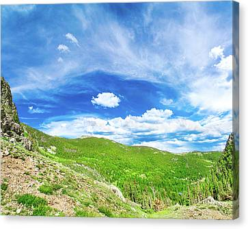 Beauty Mark Canvas Print - Wide Open Spaces by Mark Andrew Thomas