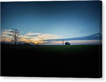 Canvas Print featuring the photograph Wide Open Spaces by Shane Holsclaw