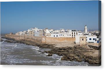 Moroccan Canvas Print - Wide View Of The Old Part Of Essaouira by Panoramic Images