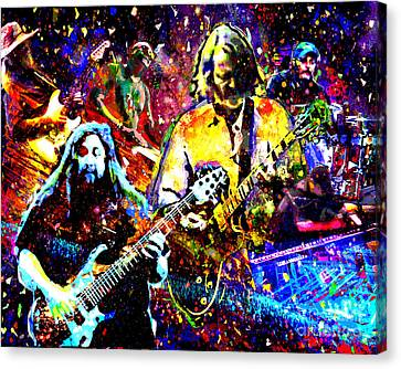 Herring Canvas Print - Widespread Panic Art by Ryan Rock Artist