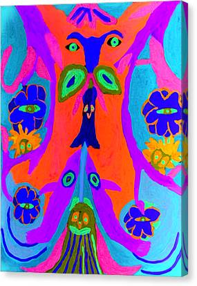 Widgets Canvas Print by Betty  Roberts