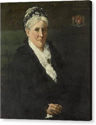 Limburg Canvas Print - Wife Of David Menno by Maria Hermina