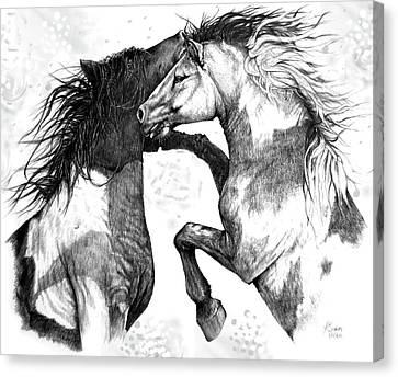 Wild And Free Canvas Print by Heidi Kriel
