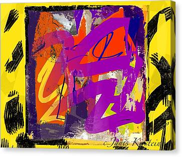 Wild And Wicked 6 Canvas Print by Janis Kirstein