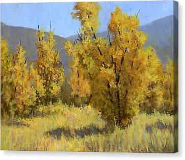 Fall Grass Canvas Print - Wild Autumn by David King