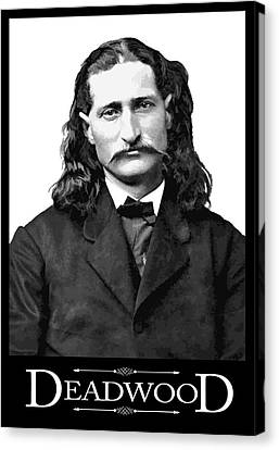 Wild Bill - Citizen Of Deadwood Canvas Print
