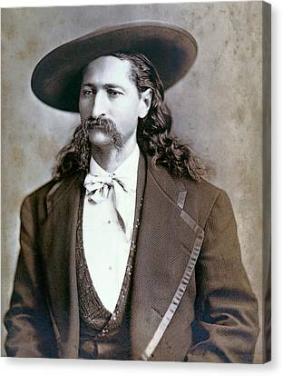 Wild Bill Hickok  1873 Canvas Print by Daniel Hagerman