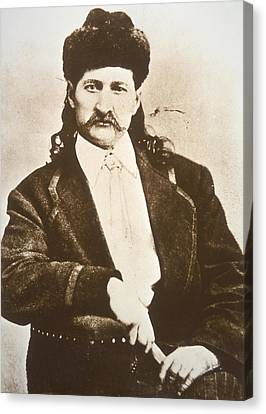Wild Bill Hickok Canvas Print by American School