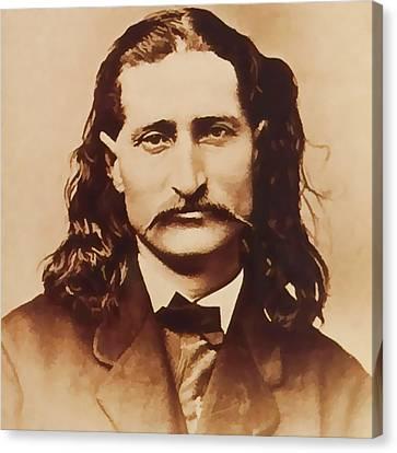 Wild Bill Hickok Canvas Print by Dan Sproul