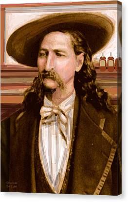 Wild Bill Hickok Canvas Print by Larry Lamb