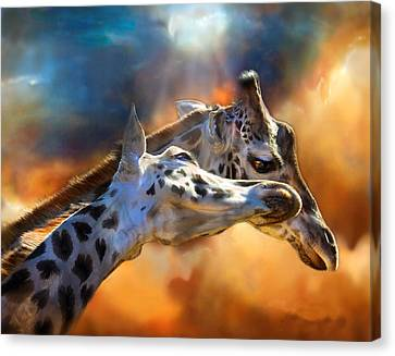 Wild Dreamers Canvas Print by Carol Cavalaris