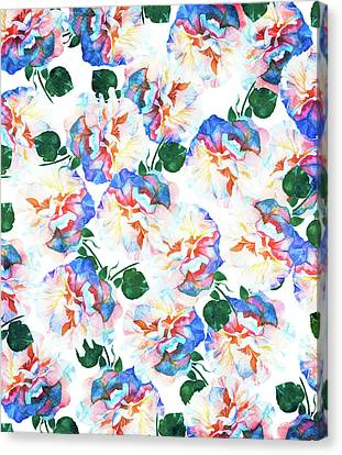 Wild Flora Canvas Print by Uma Gokhale