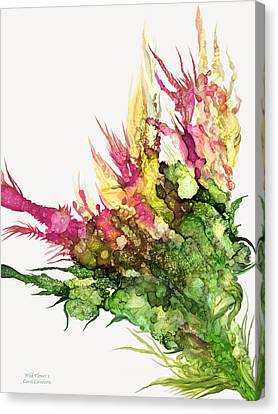 Wild Flower 1 Canvas Print