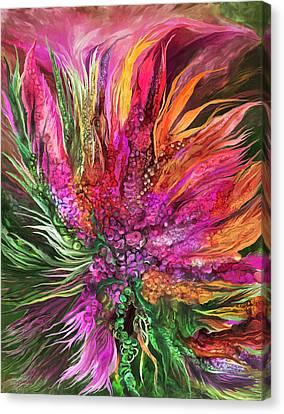 Wild Flower 2 - Organica Canvas Print