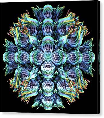 Canvas Print featuring the digital art Wild Flower by Lyle Hatch
