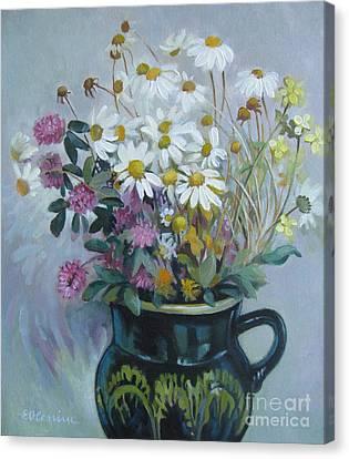Wild Flowers 2 Canvas Print by Elena Oleniuc