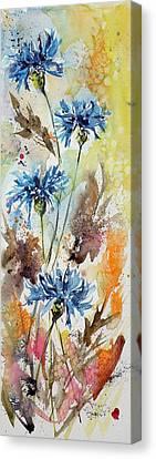 Wild Flowers Canvas Print by Kovacs Anna Brigitta