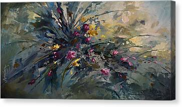 'wild Flowers' Canvas Print by Michael Lang