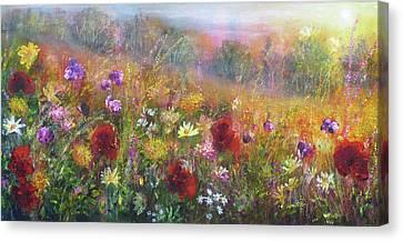 Wild Glory Canvas Print by Ann Marie Bone