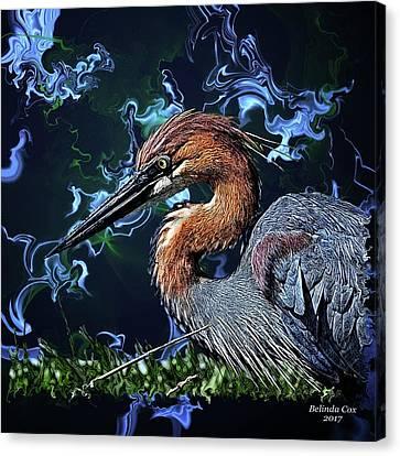 Wild Goliath Herona Canvas Print