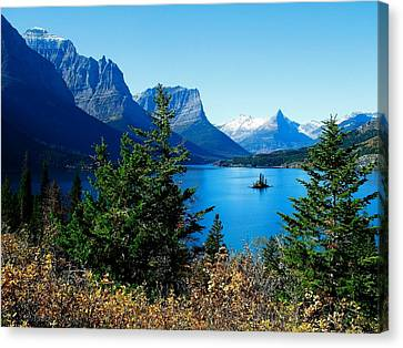 Wild Goose Island In The Fall Canvas Print