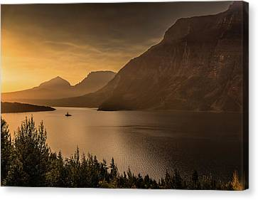 Wild Goose Island - St. Mary Lake Canvas Print