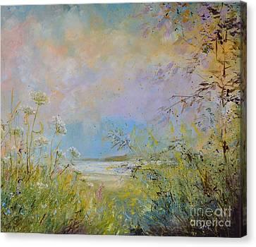 Wild Grasses Of Saugatuck Canvas Print