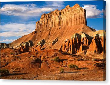 Wild Horse Butte Canvas Print by Utah Images