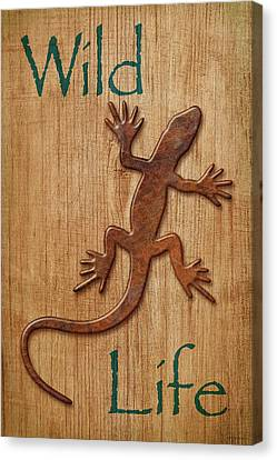 Wild Life Sign Canvas Print by WB Johnston