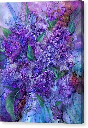 Wild Lilacs Canvas Print