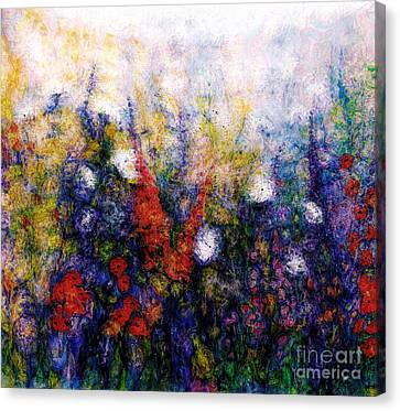 Wild Meadow Flowers Canvas Print by Claire Bull