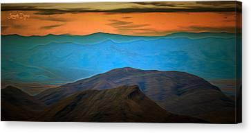 Wild Mountains - Da Canvas Print