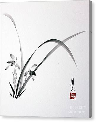 Wild Orchid Canvas Print