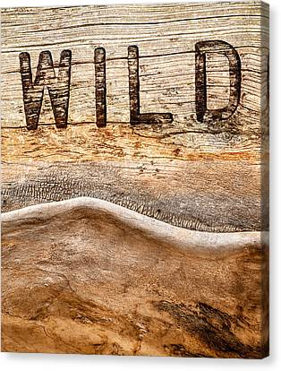 Woodcarving Canvas Print - Wild by Jacky Gerritsen