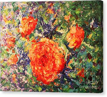 Canvas Print - Wild Roses by Tina Sheppard